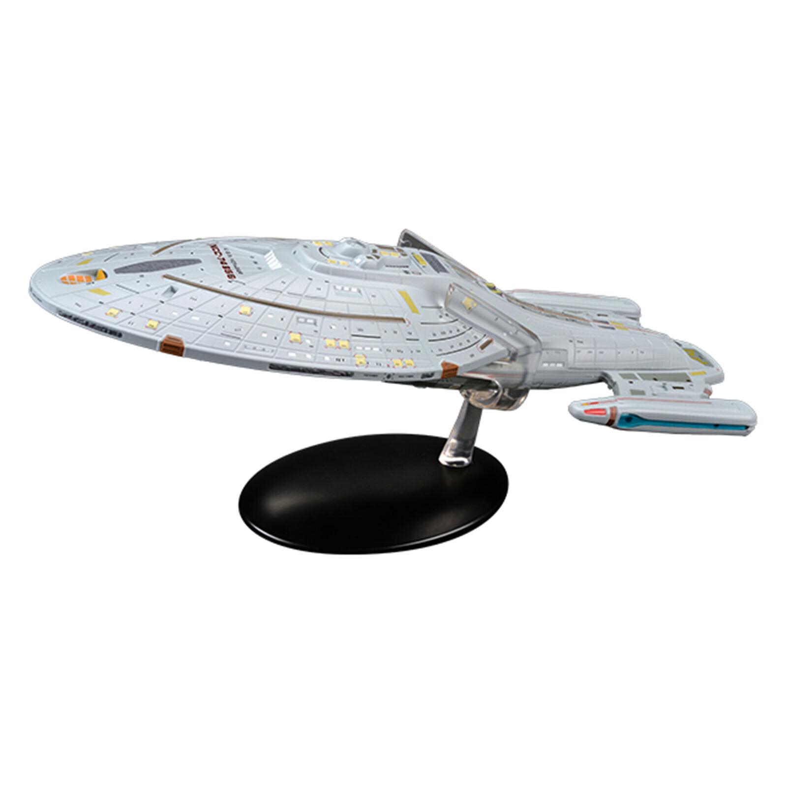 EAGLEMOSS Estrella Trek USS Voyager NCC-74656 réplica Set Nuevo en la acción
