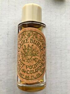 Vintage-Claire-Burke-Potpourri-56-fl-Oz-OPENED-Bottle