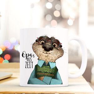 "Ernährung SchöN Tasse Becher Otter & Spruch ""opa's Auszeit"" Kaffeebecher Großvater Zitat Ts581 SchöNer Auftritt"