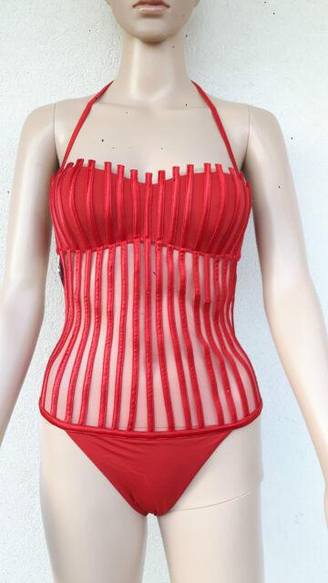 f54fa94c5d07a LA PERLA Graphique Couture Swimwear size 8 USA,12 UK,38 D,44