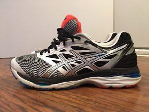 quality design 7e07e dd006 Details about ASICS GEL-CUMULUS 18, T6C3N, White / Black, Men's Running  Shoes, Size 11