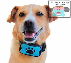Dog Anti Bark Collar Arrêter Les Aboiements Réglable Formation Appareil Aucun Choc-afficher Le Titre D'origine Surface LustréE