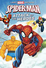 Marvel Spider-Man Attack of the Heroes by Parragon Book Service Ltd (Paperback, 2016)