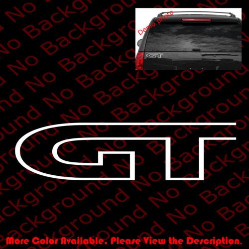 GT Mustang Celica Mazda Ford JDM Vinyl Graphic Car Windows Decal Sticker RC067B