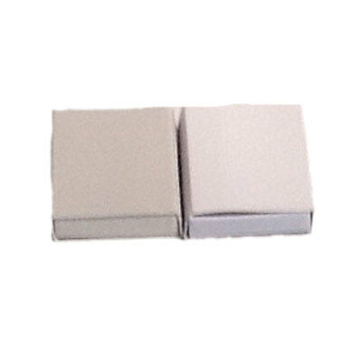 50 Plain Off White Cardboard Slide Tray Match Type Candy Storage Favor Boxes