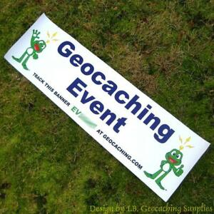 Geocaching-Event-Banner-Signal-the-Frog-Trackable-Blue-Text