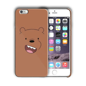 save off 05efa 4e63c Details about Animation We Bare Bears Iphone 4 4s 5 5s 5c SE 6 6s 7 + Plus  Case Cover 02