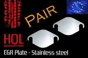 *STAINLESS* Audi EGR BLANKING PLATE A1 A2 A3 A4 A5 A6 Q5 Q7 1.2 1.4 1.9 2.0 2.5