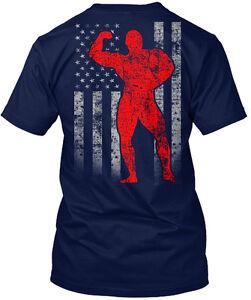 Gildan Long Sleeve Tee T-Shirt amz Marlin Flag