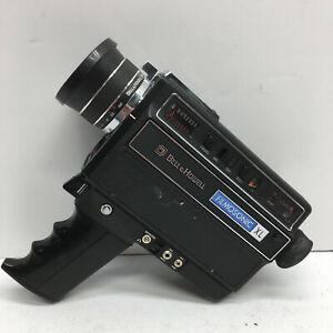 Bell & Howell Filmosonic XL 1235 Super 8 Movie Camera w/Microphone