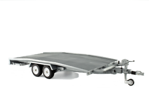 Carrello Trasporto Auto Car Transporter Trailer Ellebi LAUDORACING 1:12 LM111-12