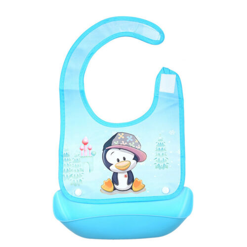 Newborn Kid Toddler Bibs Baby Soft Silicone Bib Waterproof Saliva Dripping Bibs