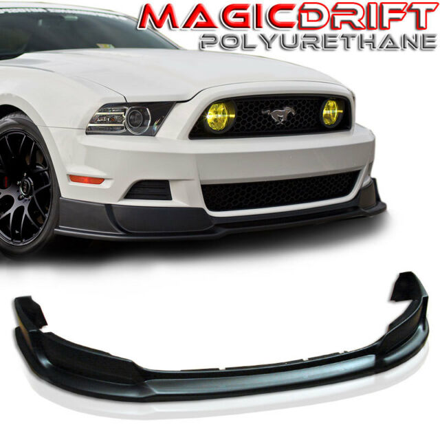 2013 Mustang Front Bumper >> 2013 2014 Ford Mustang Rtr Style Urethane Front Bumper Chin Lip Spoiler Gt V6 V8