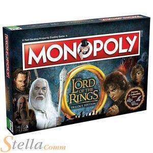 Senor De Los Anillos Trilogia Edicion Monopoly Juego De Mesa