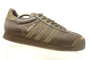 Adidas-Samoa-Brown-Leather-Casual-Athletic-Lace-Up-Sneakers-Shoes-Men-039-s-10