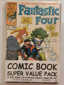 Marvel DC 10 Comics Super Pack, Fantastic Four 292, Catwoman 30, High Grade