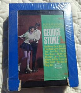 George Stone 51 Popular Organ Skating Favorites 8 TRACK TAPE SHRINK