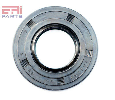 Oil Seal 15X24X5mm TC EAI Double Lip w// Spring Metal Case w// NBR Coating