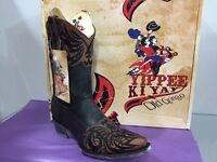 Brand Authentic Yippee Ki Yay Old Gringo Western Boots Paka 10 Womans