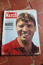 Paris Match N° 330 1955  Maroc Burt Lancaster Alexandre le Grand attentat Hitler