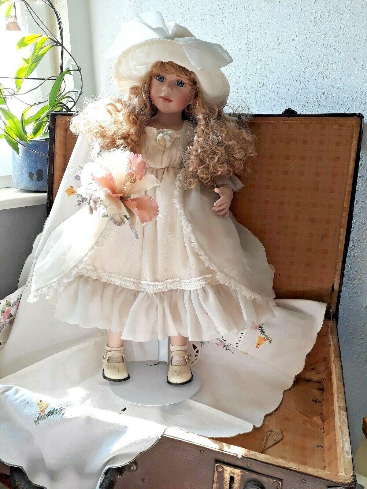 Muñeca, muñeca de coleccionista, artistas muñeca, jennifer nº 352 1000 con certificado