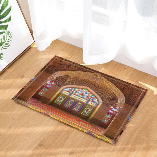 Asian Ancient Sacred Temple Shower Curtain set  Egyptian theme Home decor 71inch