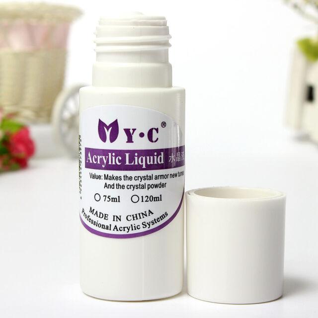 Professional Acrylic Liquid Nail Art System For Acrylic Powder Tips Salon 75ml