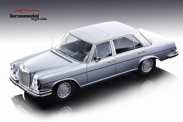 TECNOMODEL 1968 MERCEDES BENZ 300 SEL ARGENT 6.3 le 75pcs 1 18New   Super sympa