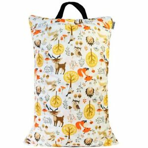 Waterproof-Double-Zip-Large-Wet-Bag-Forest-40x70cm