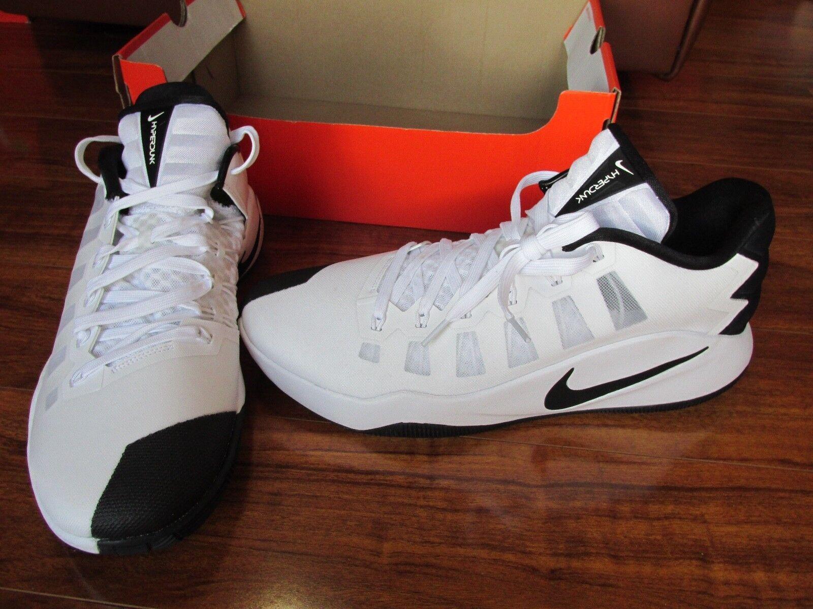 NEW Nike Hyperdunk 2016 LOW Basketball Shoe MENS 13 White Black 844363-100 Price reduction