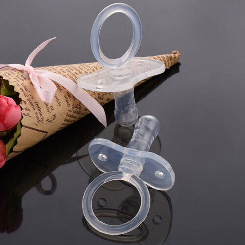 1X Baby Food Fruits Soft Nipple Feeder Safety Silicone Pacifier Feeding Tool*wf