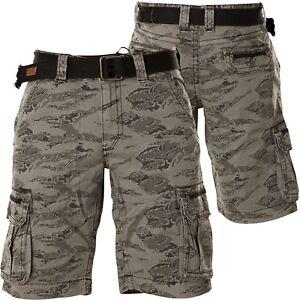 Short Affliction camouflage Grau Affliction Grau Short Gavin camouflage Gavin Affliction Short Gavin TaTnfRS