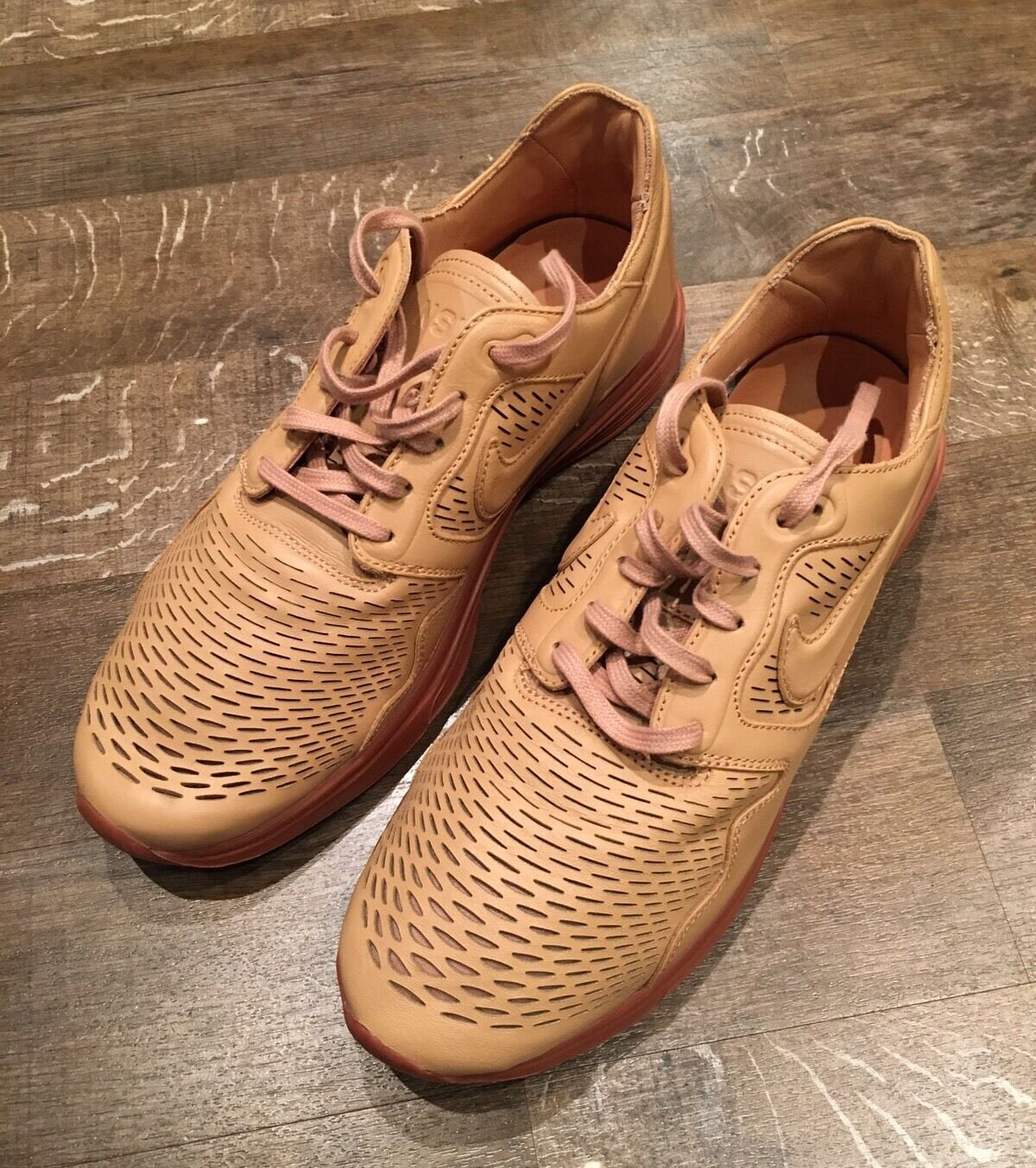 Nike Nike Nike Lunar Flow PRM NSW Natural UK10 HTM Flyknit 525284-100 573695
