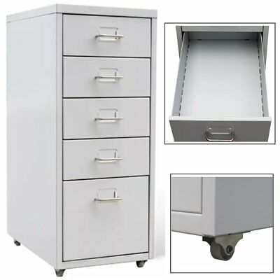 5 Drawer Hanging File Cabinet Large