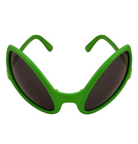 Adult Alien Dark Lens Glasses Unisex Halloween SC FI Fancy Dress Party Accessory