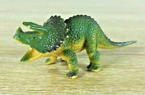Triceratops-Dinosaur-Toy-Figurine-Collectable-12CM-Length-4CM-Tall-1986-Vintage