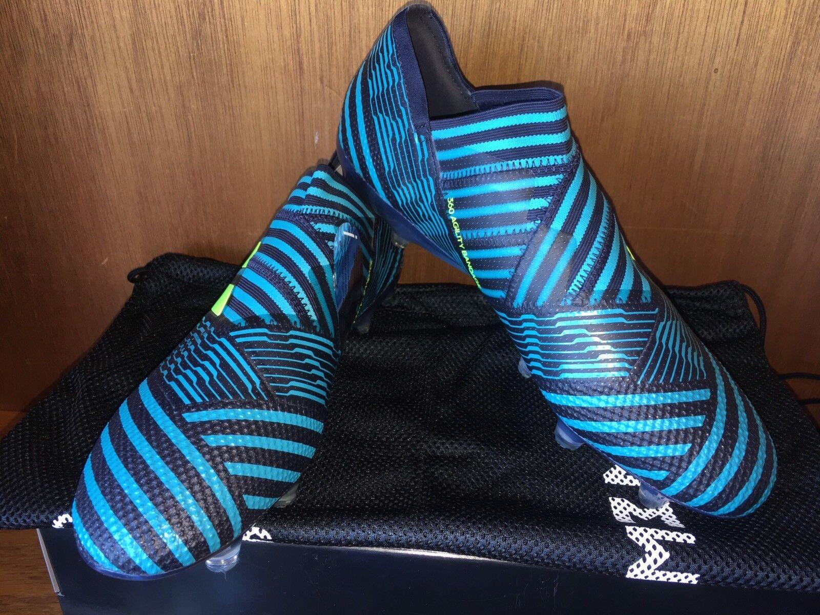 Adidas Nemeziz 17+ 360Agility Fg Fútbol Tacos Taille 10.5