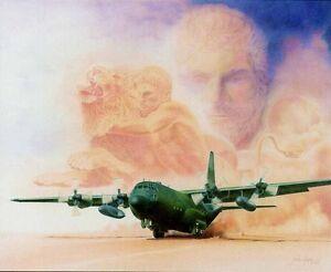 Metaphor-I-Hercules-by-Jody-Fulks-Sjogren-Aviation-Art-SN-LE-Lithograph-On-Paper