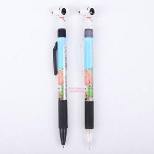 6 Farben Kugelschreiber Pencil Kulli Ballpen Pen Stift Stempel Snoopy Peanuts