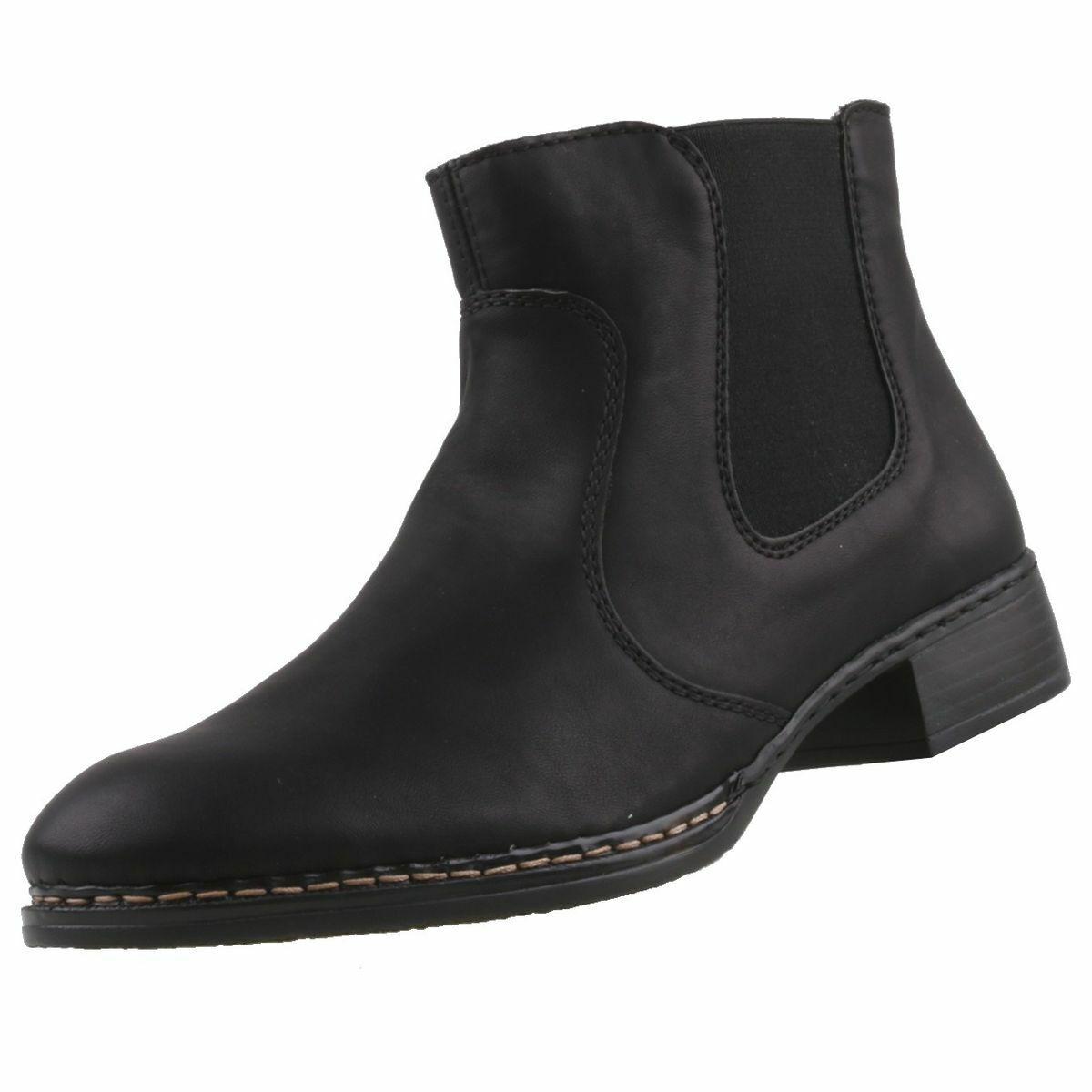 Nouveau Rieker chaussures femmes Bottines bottes bottes femmes chaussures femmes Bottine
