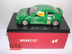 Analytique Qq 50146 Ninco Renault Megane Copa No 3 Verde