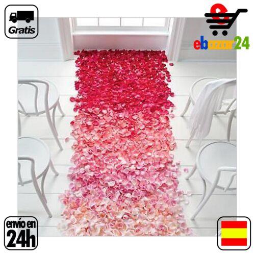 500 PETALOS ROJOS petalo rojo boda sorpresa decoracion amor romantico *Envío GRA