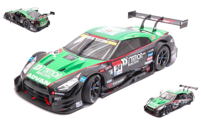 entrega rápida Nissan GT-R  24 winner Fuji súper gt500 2015 2015 2015 D. sasaki m. repugnante 1 18 Model