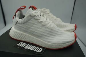 adidas NMD R2 PK (Ftwr White Ftwr White Core Red)