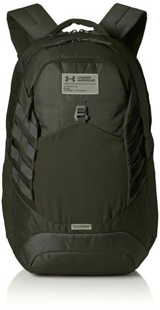 b93b03d9a0e Under Armour Hudson Backpack Artillery Green 357  moss One Size   eBay