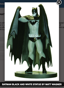 DC-COMICS-BLACK-amp-WHITE-BATMAN-STATUE-MATT-WAGNER-FACTORY-SEALED