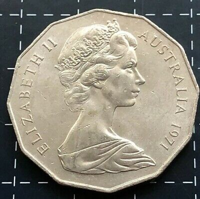 1971 50 cent coin value