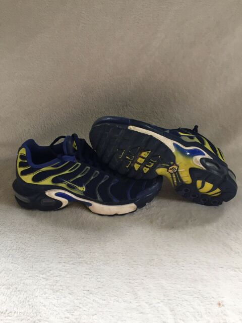 Nike Air Max Plus (GS) Binary Blue Tuned 655020 407 Size 5.5Y