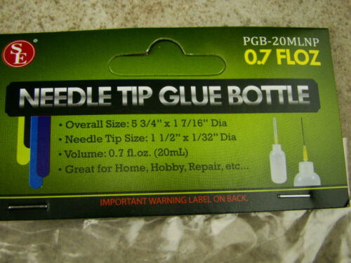 Repair Great for Crafting 0.7 FL oz Needle Tip Glue Bottle Hobbies