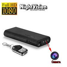 1080P Spy Hidden IP Camera Night Vision 4000mAh Power Bank With Remote Control